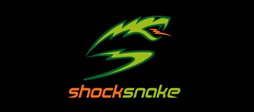 Shock Snake logo designs