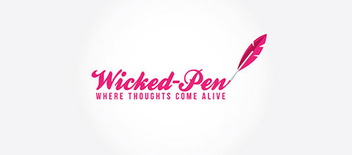 Wicked Pen logo designs