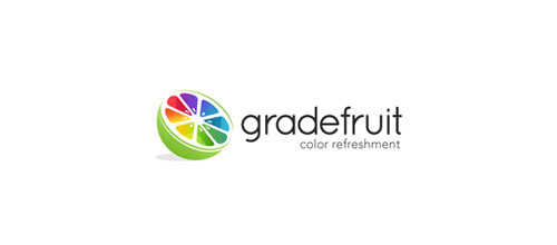 gradefruit logo designs