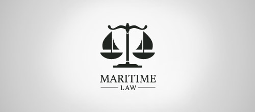 maritime law firm logo design