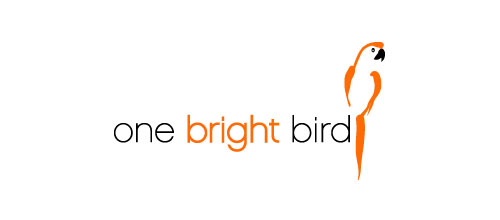 one bright bird logo designs