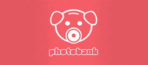Photobank logo designs