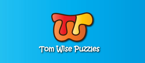 Tom Wise Puzzles logo designs