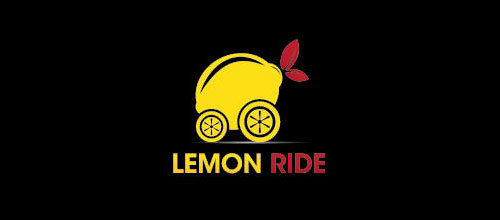Lemon Ride logo designs
