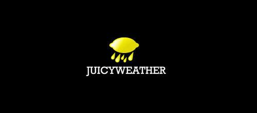 JUICYWEATHER logo designs