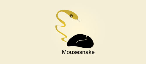 Snake Mouse logo designs