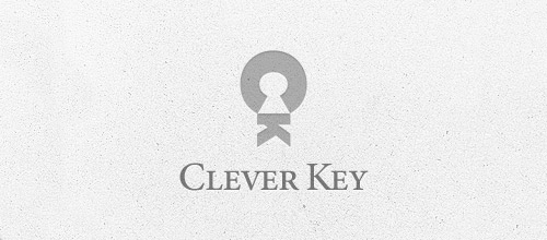 clever keyhole logo designs