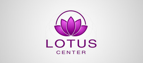 lotus center logo designs