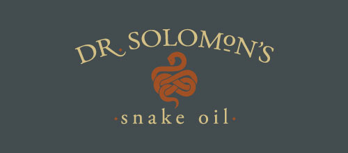 Dr. Solomon's Snake Oil logo designs