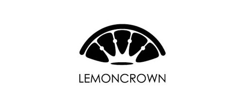 Lemon Crown logo designs