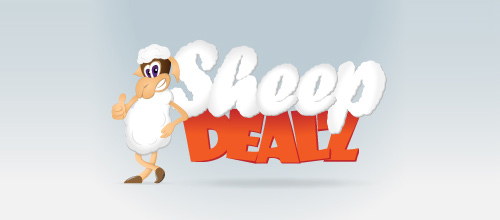 Sheep Dealz logo designs