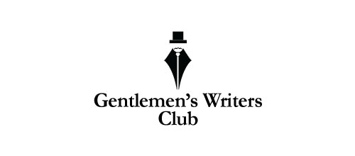 Gentlemen's Writers Club logo designs