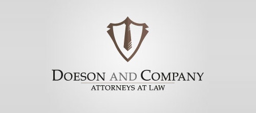 company law firm logo design