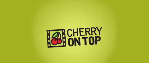 Film cherry logo designs
