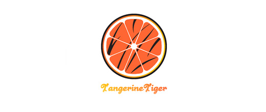 Tiger orange logo design