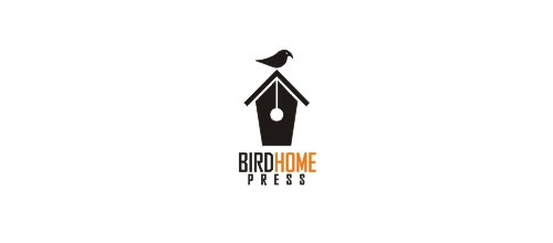 Bird Home Press logo designs