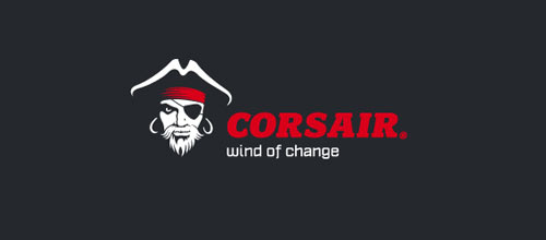 Corsair logo designs