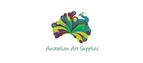 Australian Art Supply logo designs
