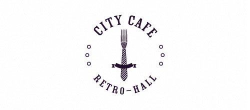 City cafe logo designs