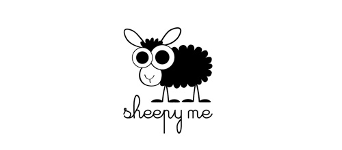 Sheepy Me logo designs