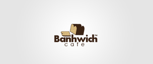 Cafe bread logo designs collection