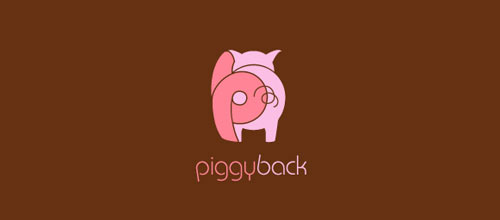 piggyback logo designs