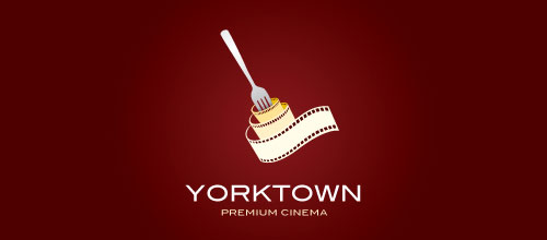 Yorktown Cinema logo designs