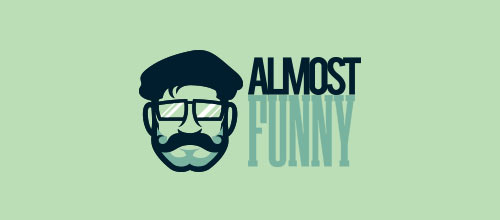 Almost Funny logo designs