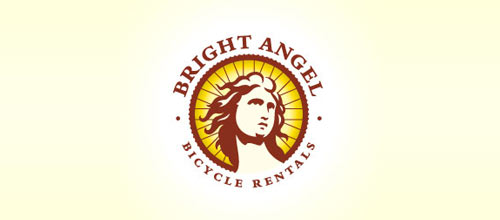 Bright Angel Bicycle Rentals logo designs