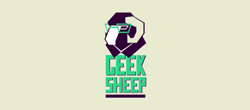 Geek Sheep logo designs