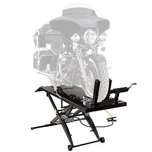 Air Operated Lift Table for Motorcycle