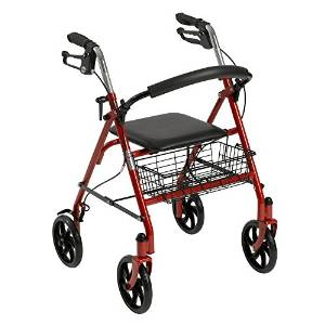 Drive Medical Rollator Four-Wheel