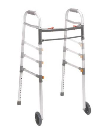 Drive Medical Two Button Deluxe Universal Walker