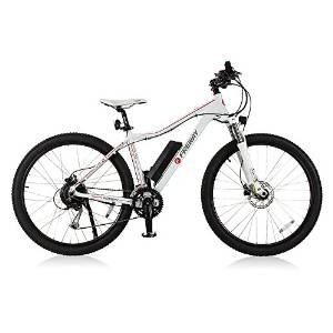 Freway Pedal-assist 27-Speed Electric Mountain Bicycle