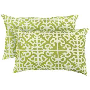 Greendale Home Fashions Outdoor Indoor Rectangle Accent Pillows