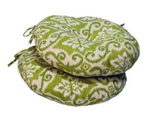 Greendale Home Fashions Round Indoor/Outdoor Bistro Chair Cushion