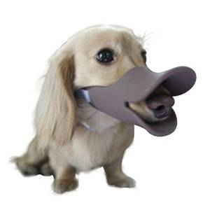 NACOCO Duck Shape Anti Bite Dog Muzzle