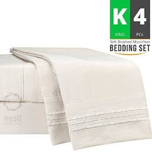 Nestl Bedding KING Bed Sheet Set