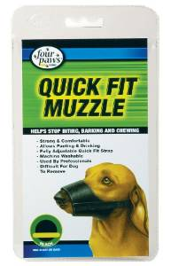 Quick Fit Four Paws Dog Muzzle