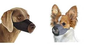 Quick Fit with Adjustable Straps Dog Muzzle