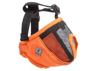 Short Snout Orange Dog Muzzle from Canine Friendly