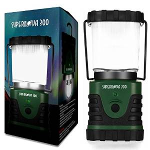 Supernova Ultra-Bright 300-Lumen LED Lantern