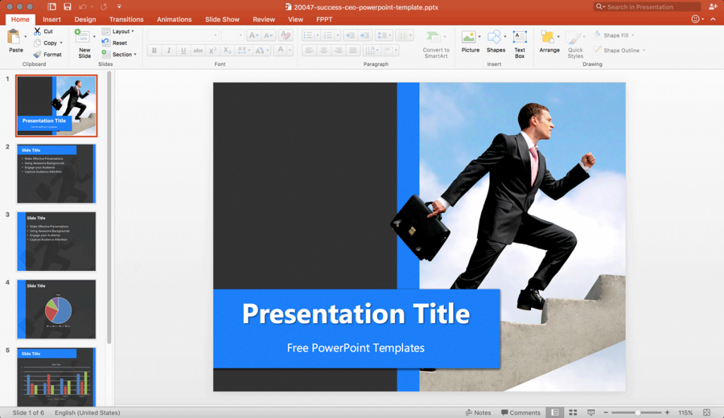 free-ceo-powerpoint-templates