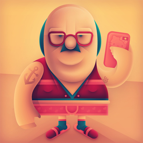 Pictoplasma Character Selfies Project