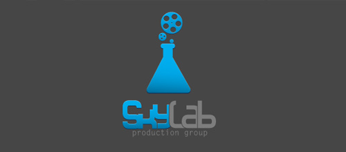 Sky Lab logo designs