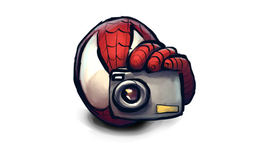Spiderman camera free icon