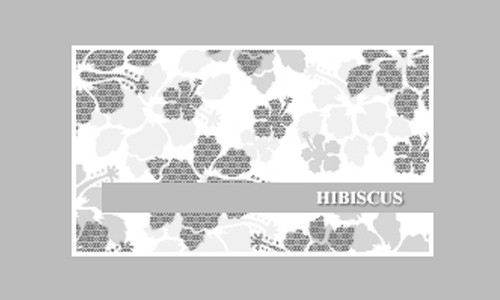 Leafy free hibiscus Flowerbrushes