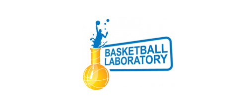 Basketball laboratory logo designs