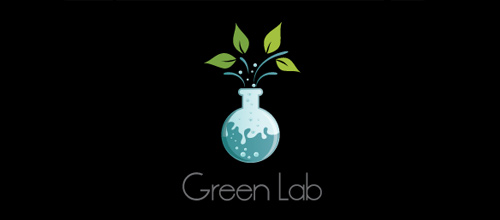 Green Lab logo designs