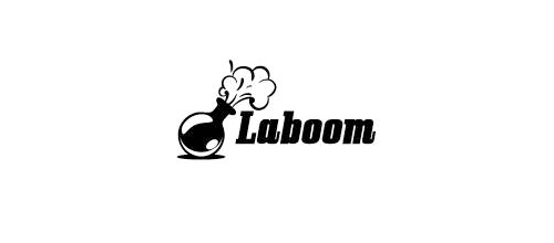 Laboom logo designs